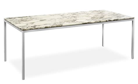 table florence knoll florence knoll rectangular dining table hivemodern