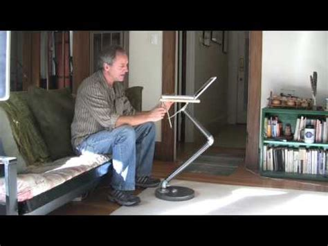 Laptop Table Stand by Build A Laptop Stand Youtube