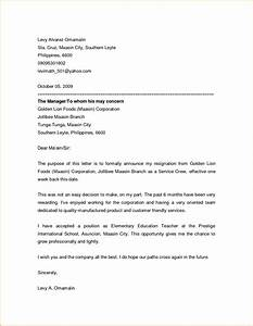 7+ friendly resignation letter template Invoice Template Download