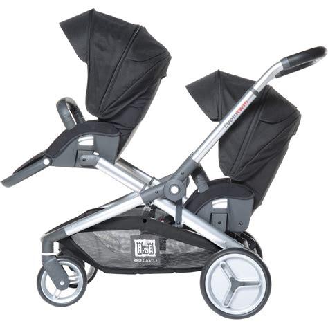 poussette siege auto poussette jumeaux evolutwin avec sièges auto rc2 noir de