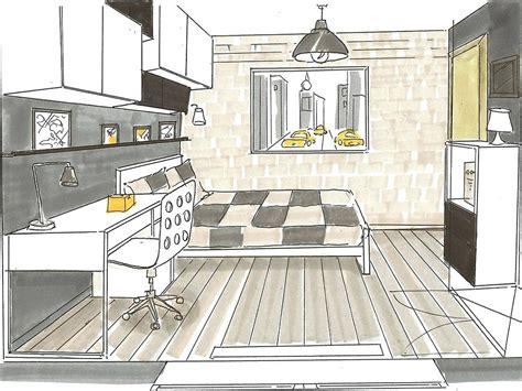 dessiner sa chambre chambre en perspective dessin utoo me