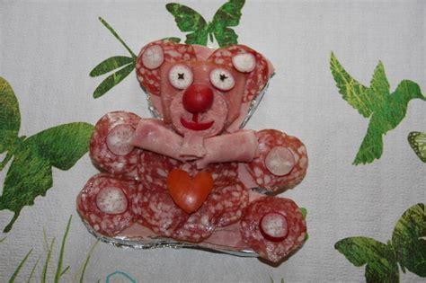plat de charcuterie decoration nounours en charcuterie photo de id 233 es de d 233 coration de plats celineverodu77