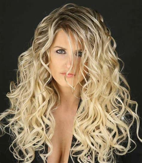 long hair perm styles  images  hair  pinterest