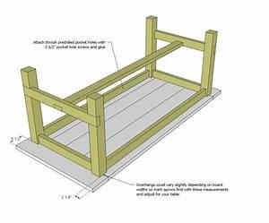 farmhouse table woodworking plans - WoodShop Plans