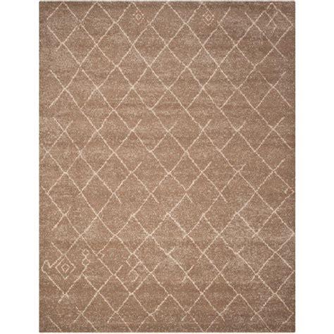 home depot area rugs 8 x 10 safavieh tunisia brown 8 ft x 10 ft area rug tun1511 khv