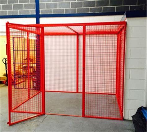 walk  mesh box cages richardsons shelving racking