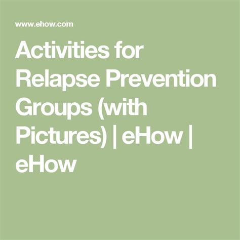 25 best ideas about relapse prevention on