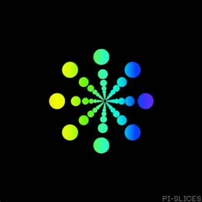 Rainbow Motion Loop Graphics Mesmerizing Gifs 3d