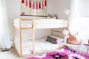 Ikea Kura Bett Umgestalten : ikea kura bett umgestalten holz weiss m dchenzimmer spielen teppich rosa ~ Watch28wear.com Haus und Dekorationen