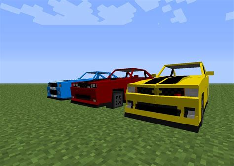 minecraft sports car minecraft mod spotlight sports cars spino vehicle pack