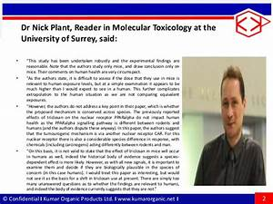 Expert reaction to new study on triclosan and tumours in mice