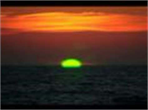 green flash  sunset  buzzards bay west falmouth ma