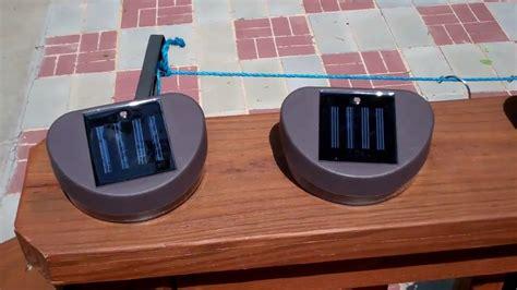 installing deck solar lights