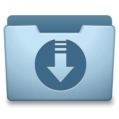 Ocean Blue Downloads Icon