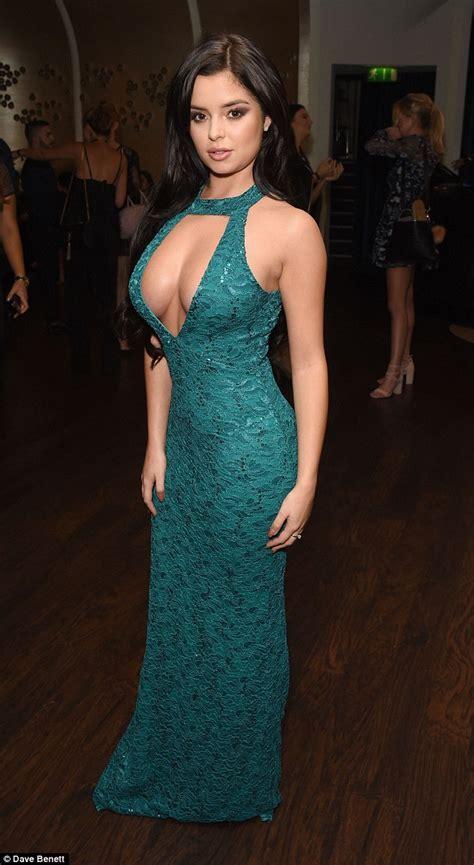 Tyga's rumoured ex Demi Rose puts on a very buxom display ...