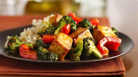 recette de cuisine asiatique recette sauté de tofu recette de sauté végétarien au tofu et au brocoli vivre délicieusement