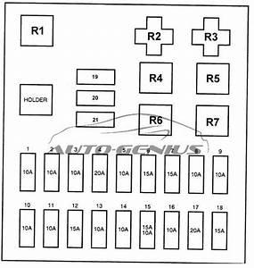 Hyundai H100  Au   1996 - 2003  - Fuse Box Diagram