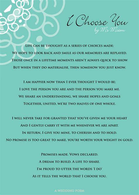 choose   wedding poem marriage celebrant cathlyn