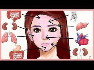 اعرف مرضك من مكان ظهور الحبوب على الوجه - YouTube