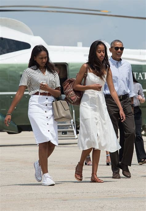 See Sasha And Malia Obama's Style Evolution Through The