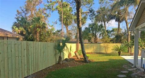 wood fencing jacksonville beach featured installation
