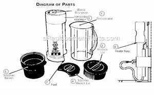 Mr  Coffee Tm1t Parts List And Diagram   Ereplacementparts Com