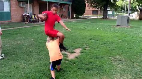 How To Play Backyard Football - backyard football hurdle goes wrong