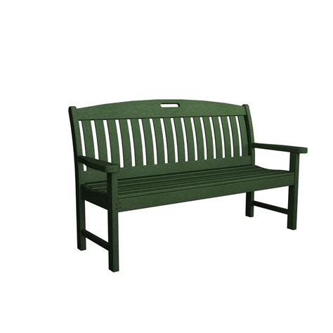 black outdoor bench step2 outdoor storage patio bench 5433kr the home depot