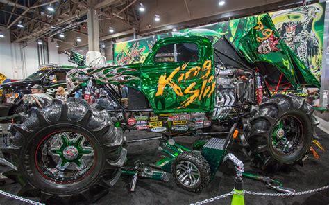 monster truck show tonight weirdest cars of the sema show 15 18