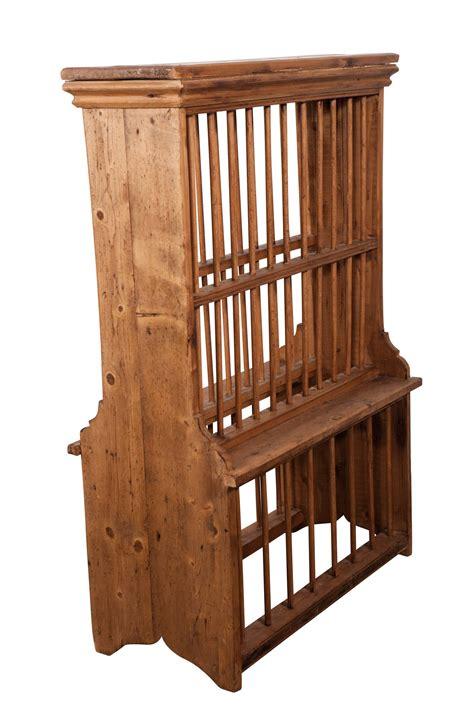 english standing pine plate rack  sale  stdibs