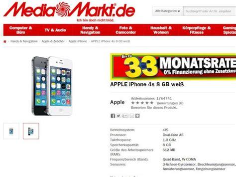 iphone  von apple bei media markt ohne vertrag fuer