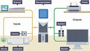 Diagram Of Various Input And Output Devices