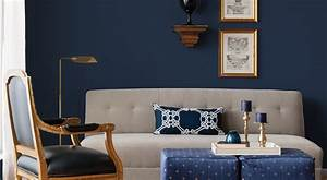 50 shades of blue home decor for How to decorate a dark blue room