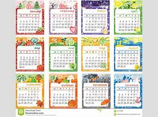Calendar 2016 Design Stock Illustration Image 58149382