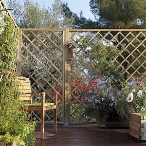Arche De Jardin Leroy Merlin : panneau treillis bois ajour sonato cm x cm ~ Dallasstarsshop.com Idées de Décoration