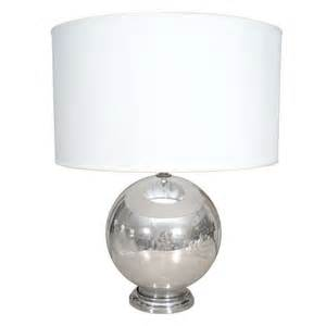 glass globe table l vintage mercury glass globe table l