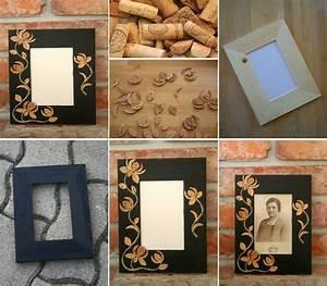 DIY Cork Flower Picture Frame DIY Projects UsefulDIY com