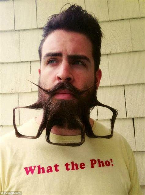 incredibeard san francisco man creates beard blog featuring art
