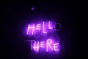 hell here Neon Pinterest