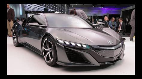 acura nsx concept  detroit auto show youtube
