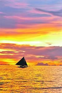 Beautiful sunse... Boracay Sunset Quotes