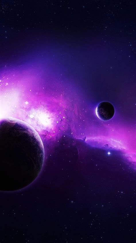 Wallpaper Iphone 6 Plus Violet Space 5 5 Inches  1080 X