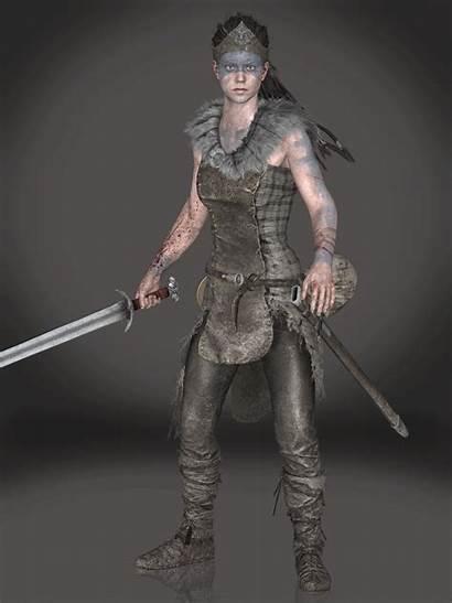 Senua Deviantart Sticklove Cosplay Character Games Hellblade