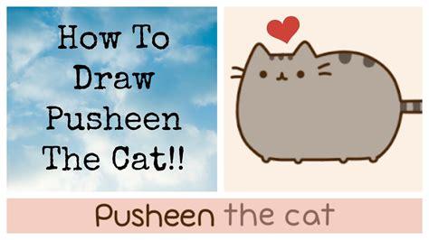 draw pusheen youtube