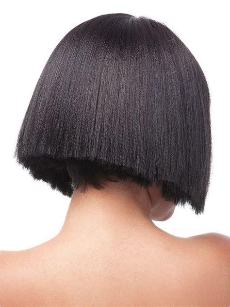 full cap perm yaki gaga synthetic  wig