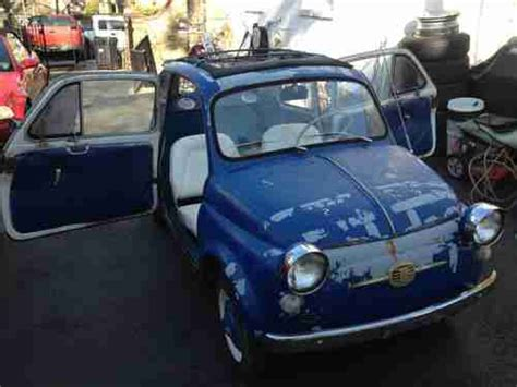 Fiat Parts Usa by Sell Used 1959 Fiat 500 Nuova Runs And Drives Needs Minor