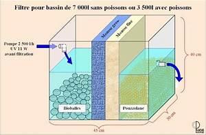 Filtration Biologique Pour Bassin A Poisson : filtre bassin jardin fabrication bassin de jardin ~ Premium-room.com Idées de Décoration