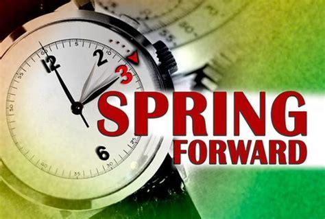 daylight saving time starts sunday march spring
