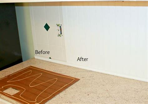 beadboard tile fix country kitchen
