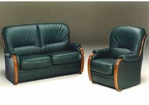 acheter votre canape fixe 2 places en cuir bleu avec With tapis ethnique avec canapé 2 places bleu